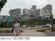 Купить «Singapore, Republic of Singapore, The Interlace», фото № 28949180, снято 14 декабря 2017 г. (c) Caro Photoagency / Фотобанк Лори