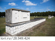 Купить «Poland, Pomerania, Concentration Camp Memorial Museum Stutthof», фото № 28949424, снято 26 августа 2015 г. (c) Caro Photoagency / Фотобанк Лори