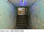 Купить «Germany, North Rhine-Westphalia bunker museum in Oberhausen», фото № 28950536, снято 16 марта 2016 г. (c) Caro Photoagency / Фотобанк Лори