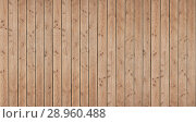Купить «Old wood plank texture background», фото № 28960488, снято 4 августа 2018 г. (c) Александр Лычагин / Фотобанк Лори