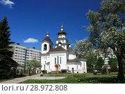 Купить «Церковь Праведной Софии Слуцкой», фото № 28972808, снято 9 мая 2018 г. (c) Марина Шатерова / Фотобанк Лори
