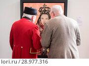 Купить «Endless - The Royal Adornments, private view at Chelsea Waterside Artspace Featuring: Atmosphere Where: London, United Kingdom When: 26 Apr 2017 Credit: WENN.com», фото № 28977316, снято 26 апреля 2017 г. (c) age Fotostock / Фотобанк Лори