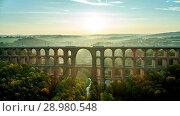 Купить «The Göltzsch Viaduct is the world's largest brick bridge, Vogtland, Saxony, Germany», фото № 28980548, снято 30 сентября 2017 г. (c) age Fotostock / Фотобанк Лори