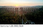Купить «The Göltzsch Viaduct is the world's largest brick bridge, Vogtland, Saxony, Germany», фото № 28980564, снято 30 сентября 2017 г. (c) age Fotostock / Фотобанк Лори