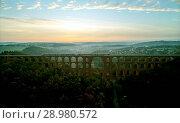 Купить «The Göltzsch Viaduct is the world's largest brick bridge, Vogtland, Saxony, Germany», фото № 28980572, снято 30 сентября 2017 г. (c) age Fotostock / Фотобанк Лори