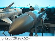 Купить «Противокарабельная ракета Х-31АД», фото № 28987524, снято 22 августа 2018 г. (c) Виктор Юрасов / Фотобанк Лори