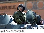Купить «Rehearsal of Victory Day military parade in Saint-Petersburg, Russia», фото № 28992008, снято 8 мая 2012 г. (c) Stockphoto / Фотобанк Лори