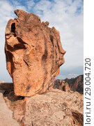 Купить «Stone in Calanques de Piana. Corsica», фото № 29004720, снято 23 августа 2018 г. (c) EugeneSergeev / Фотобанк Лори