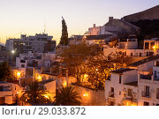 Купить «View of the Santa Cruz district of Alicante, Valencia, Spain», фото № 29033872, снято 23 декабря 2016 г. (c) age Fotostock / Фотобанк Лори