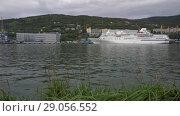 Купить «Петропавловск-Камчатский морской вокзал», видеоролик № 29056552, снято 4 сентября 2018 г. (c) А. А. Пирагис / Фотобанк Лори