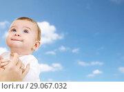 Купить «close up of sweet little baby with mother hand», фото № 29067032, снято 22 декабря 2007 г. (c) Syda Productions / Фотобанк Лори