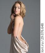 Купить «Gorgeous woman with nude body», фото № 29076648, снято 5 июля 2018 г. (c) Валуа Виталий / Фотобанк Лори