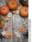 Купить «Background for Halloween», фото № 29090680, снято 14 сентября 2018 г. (c) Типляшина Евгения / Фотобанк Лори