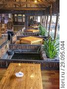Купить «A restaurant in Ciwidey, Bandung, Indonesia», фото № 29095044, снято 8 августа 2018 г. (c) age Fotostock / Фотобанк Лори