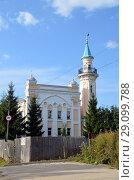 Купить «Вологодская соборная мечеть Аль-Джума», фото № 29099788, снято 8 сентября 2018 г. (c) Светлана Колобова / Фотобанк Лори