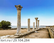 """State historical and archeological museum-reserve """"Chersonese Taurian"""", Crimea, Russia (2016 год). Стоковое фото, фотограф Наталья Волкова / Фотобанк Лори"""