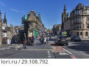 Купить «George IV Bridge, Greyfriars Bobby Memorial Statue, Edinburgh, Scotland, UK.», фото № 29108792, снято 24 июля 2017 г. (c) age Fotostock / Фотобанк Лори