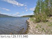 Купить «A summer day at North lake», фото № 29111940, снято 4 августа 2015 г. (c) Сергей Дрозд / Фотобанк Лори