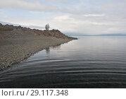 Купить «Плато Путорана, озеро Кета», фото № 29117348, снято 11 августа 2015 г. (c) Сергей Дрозд / Фотобанк Лори