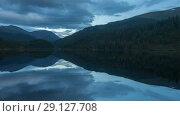 Купить «Altai mountains. Beautiful highland landscape. Russia Siberia. Timelapse», видеоролик № 29127708, снято 15 сентября 2018 г. (c) Ильин Сергей / Фотобанк Лори