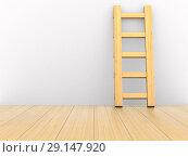 Купить «staircase in room. 3D illustration», иллюстрация № 29147920 (c) Ильин Сергей / Фотобанк Лори