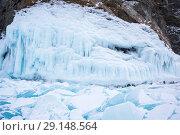 Купить «Lake Baikal in winter», фото № 29148564, снято 3 марта 2017 г. (c) Юлия Белоусова / Фотобанк Лори
