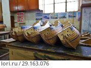 Купить «Ship model factory. Mauritius island», фото № 29163076, снято 2 мая 2013 г. (c) Знаменский Олег / Фотобанк Лори