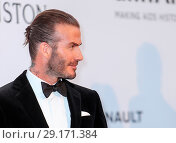 Купить «Arrivals for the 24th annual amfAR fundraiser during the Cannes Film Festival at the Hotel Eden Roc in Cap D'Antibes Featuring: David Beckham Where: Cap...», фото № 29171384, снято 25 мая 2017 г. (c) age Fotostock / Фотобанк Лори