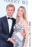 Купить «Arrivals for the 24th annual amfAR fundraiser during the Cannes Film Festival at the Hotel Eden Roc in Cap D'Antibes Featuring: Nico Rosberg, Vivian Sibold...», фото № 29171484, снято 25 мая 2017 г. (c) age Fotostock / Фотобанк Лори