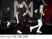 Купить «Showcase of norwegian pop duo and teen stars 'Marcus and Martinus' at Privatclub in Kreuzberg. Featuring: Marcus and Martinus, Marcus Gunnarsen, Martinus...», фото № 29196248, снято 5 июня 2017 г. (c) age Fotostock / Фотобанк Лори