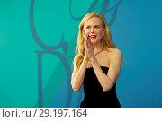 Купить «2017 CFDA Awards at Hammerstein Ballroom - Red Carpet Arrivals Featuring: Nicole Kidman Where: New York, New York, United States When: 06 Jun 2017 Credit: Ivan Nikolov/WENN.com», фото № 29197164, снято 6 июня 2017 г. (c) age Fotostock / Фотобанк Лори