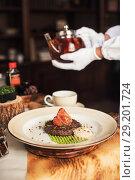 Купить «Tasty high kitchen», фото № 29201724, снято 25 июля 2018 г. (c) Jan Jack Russo Media / Фотобанк Лори