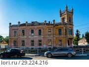 Купить «Город Тверь, Аваевская богадельня», эксклюзивное фото № 29224216, снято 19 сентября 2018 г. (c) Alexei Tavix / Фотобанк Лори