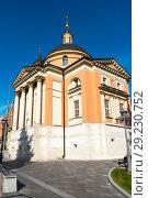 Купить «Церковь святой Варвары в Зарядье. Москва», эксклюзивное фото № 29230752, снято 14 сентября 2018 г. (c) Александр Щепин / Фотобанк Лори