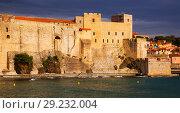 Купить «Photography of french seafront in Collioure», фото № 29232004, снято 11 мая 2017 г. (c) Яков Филимонов / Фотобанк Лори