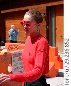 Купить «Gigi Hadid leaving her apartment in New York City sporting a sweater monogrammed with her name Featuring: Gigi Hadid Where: Manhattan, New York, United States When: 31 May 2017 Credit: TNYF/WENN.com», фото № 29236852, снято 31 мая 2017 г. (c) age Fotostock / Фотобанк Лори