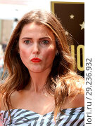 Купить «Keri Russell honoured with a star ceremony on the Hollywood Walk of Fame in Los Angeles Featuring: Keri Russell Where: Los Angeles, California, United...», фото № 29236932, снято 30 мая 2017 г. (c) age Fotostock / Фотобанк Лори
