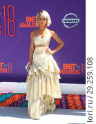 Купить «2018 BET Awards Featuring: Serayah McNeill Where: Los Angeles, California, United States When: 25 Jun 2018 Credit: FayesVision/WENN.com», фото № 29259108, снято 25 июня 2018 г. (c) age Fotostock / Фотобанк Лори