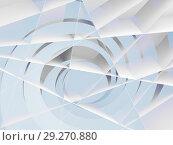 Купить «Blue spiral and stripes background pattern», иллюстрация № 29270880 (c) EugeneSergeev / Фотобанк Лори