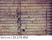 Купить «Rusty metal texture», фото № 29274456, снято 22 октября 2018 г. (c) Яков Филимонов / Фотобанк Лори