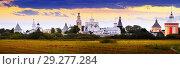 Купить «Spaso-Prilutsky Monastery in Vologda, Russia», фото № 29277284, снято 17 августа 2019 г. (c) Яков Филимонов / Фотобанк Лори