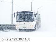 Купить «KAVZ 4235 Avrora», фото № 29307100, снято 5 мая 2014 г. (c) Art Konovalov / Фотобанк Лори