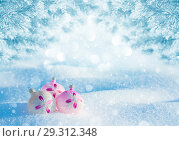 Купить «Новогодний пейзаж», фото № 29312348, снято 12 февраля 2018 г. (c) Икан Леонид / Фотобанк Лори