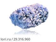 Smoky crystal on a white background. Стоковое фото, фотограф Евгений Ткачёв / Фотобанк Лори