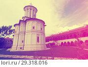 Купить «Monastery Horezu in romanian city», фото № 29318016, снято 22 сентября 2017 г. (c) Яков Филимонов / Фотобанк Лори