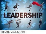 Купить «Concept of leadership with many business situations», фото № 29320780, снято 27 марта 2019 г. (c) Elnur / Фотобанк Лори