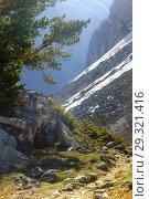 Купить «In mountains», фото № 29321416, снято 4 мая 2018 г. (c) александр жарников / Фотобанк Лори
