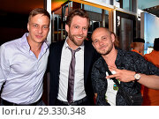 Tom Wlaschiha, Ken Duken, Antonio Wannek at Produzentenfest at Haus... (2018 год). Редакционное фото, фотограф AEDT / WENN.com / age Fotostock / Фотобанк Лори