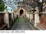 Villa d'Este, Tivoli, Lazio, Italy. Стоковое фото, фотограф Ivan Vdovin / age Fotostock / Фотобанк Лори