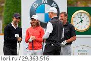 Купить «BMW PGA Championship 2018 Featuring: Pep Guardiola, tommy Fleetwood, matt le tissier Where: Virginia Drive, Surrey, United Kingdom When: 23 May 2018 Credit: PRiME Media/WENN.com», фото № 29363516, снято 23 мая 2018 г. (c) age Fotostock / Фотобанк Лори